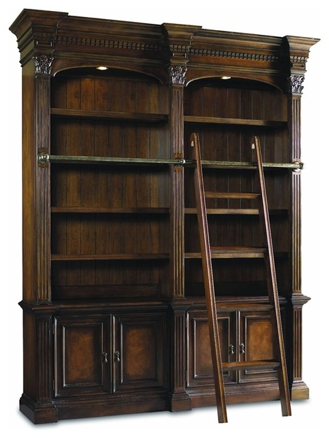 Hooker Furniture - Hooker Furniture European Renaissance II Double Bookcase - View in Your Room ...