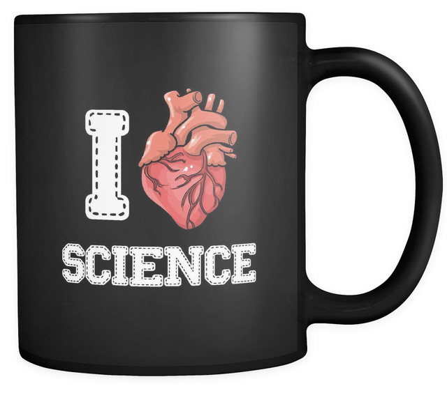 Mug With Love Black 'i Coffee Science' Oz Science Quote 11 0wPknXO8