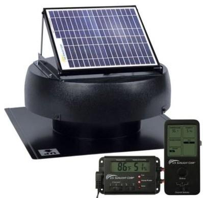 Solar U S Sunlight Attic Fan Sunfan 10 Watt Ed With
