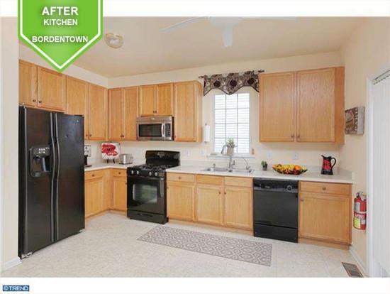 Bordentown After Kitchen