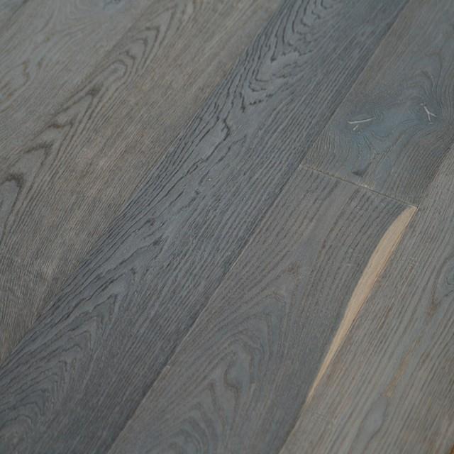 6x8 French Oak Vintage Engineered Wood Floor Sample Modern