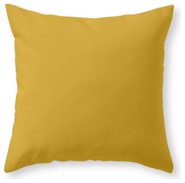 Mustard Throw Pillow Covers : Society6 Mustard, Throw Pillow - Contemporary - Decorative Pillows - by Society6
