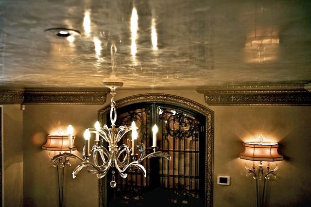 beautiful ve ian plaster ceiling   traditional   dallas
