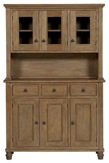 waxing kitchen cabinets kipling grey wash buffet with hutch top traditional 3366