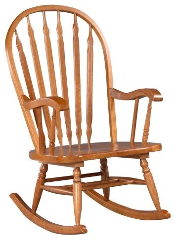 Exceptionnel Hudson Bow Back Rocking Chair