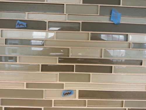 Glass Mosaic Tile A Mess Please Help
