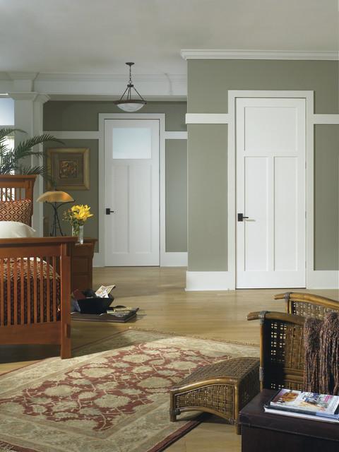 The Craftsman Interior Door contemporary-interior-doors