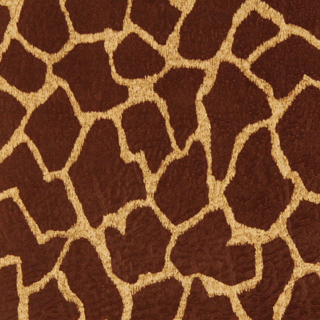 Shop Houzz Palazzo Fabrics Brown Giraffe Print