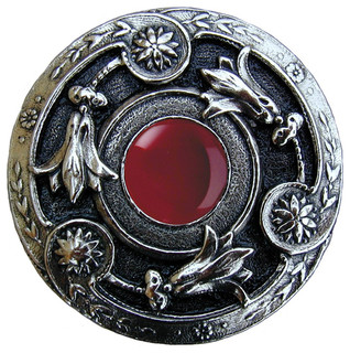 Lily Jeweled Knob - Southwestern - Cabinet And Drawer Knobs - by Notting Hill Decorative Hardware