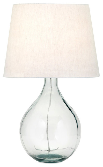 Beautiful Multi Albany Recycled Glass Table Lamp Lighting Decor