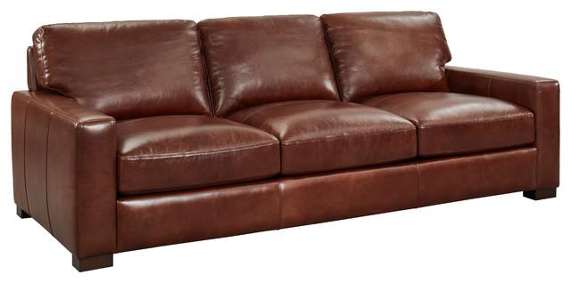 Jenkins Top Grain Leather Sofa