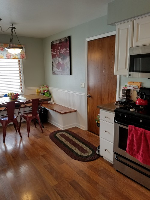 West Facing Kitchen Wall Color