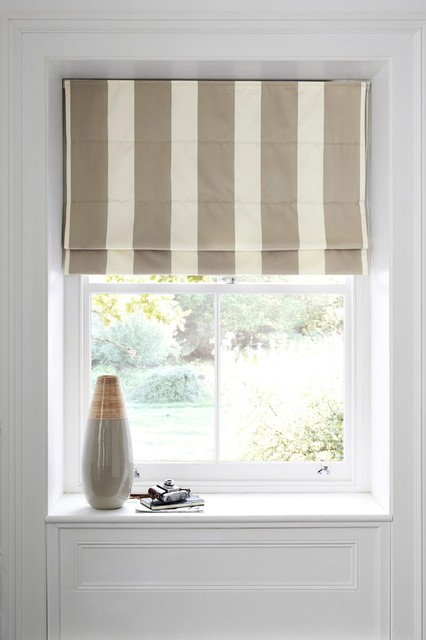 Http Www Houzz Co Uk Photos 14993296 Woven Roman Blind Traditional Roman Blinds