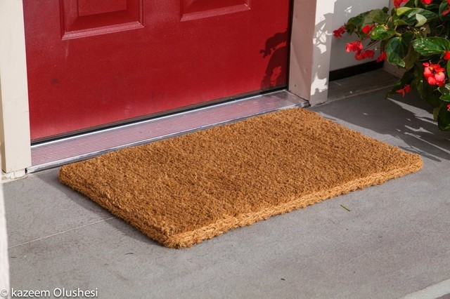 Kempf Natural Coco Coir Outdoor Doormats with Green Border Keep Your House//Office Clean 1851 Kempf /& Son Inc Welcome Guests With Outdoor Heavy Duty Doormats 36 X 60 William F