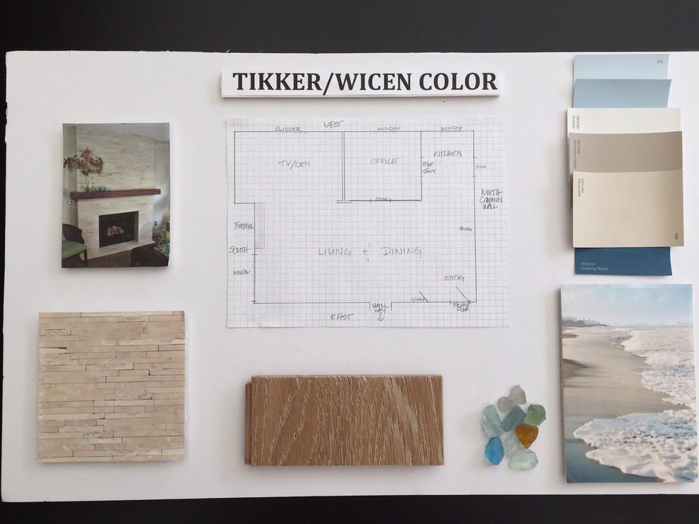 Wicen/Tikker Condo Interior remodel inspiration board