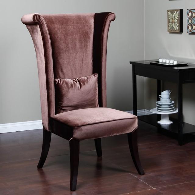 Merveilleux Armen Living Mad Hatter Chair   LC847SIBR