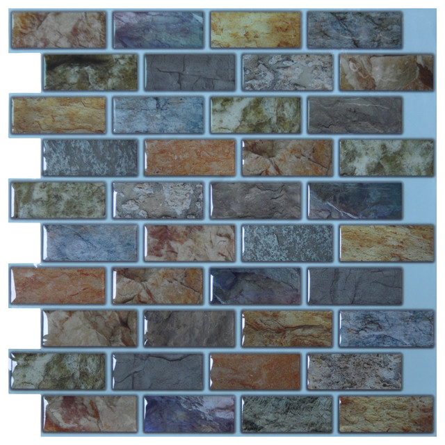 peel and stick kitchen and bathroom backsplash tiles 12 x12 rus