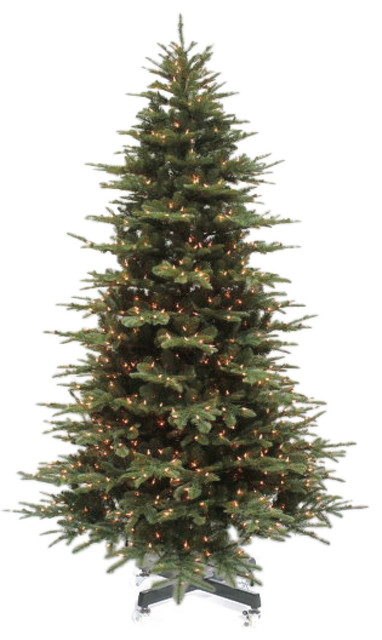 noble fir tree with led lights 6 - Christmas Tree With Led Lights