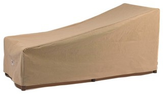 """Duck Covers Essential Patio Chaise Lounge Cover, 74"""""""