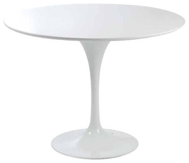 Eurostyle Eurostyle Astrid Round Pedestal Dining Table In White Reviews Houzz