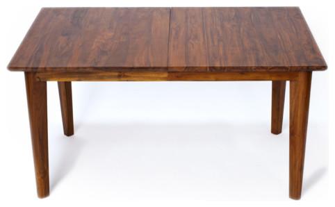 Belleni Extension Dining Table, Solid Reclaimed Teak Wood
