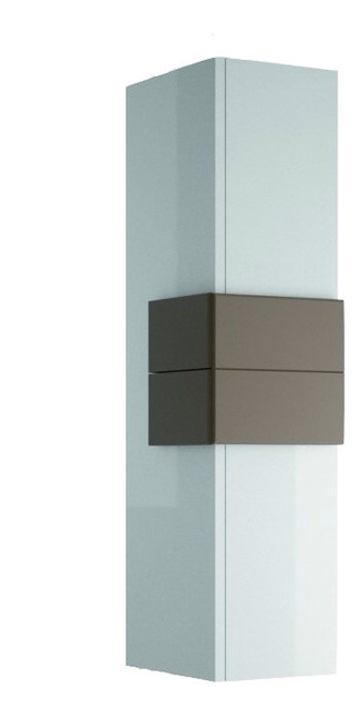 Modern Bath Wall Cabinet Model Concetto 7650 Matches Vanity