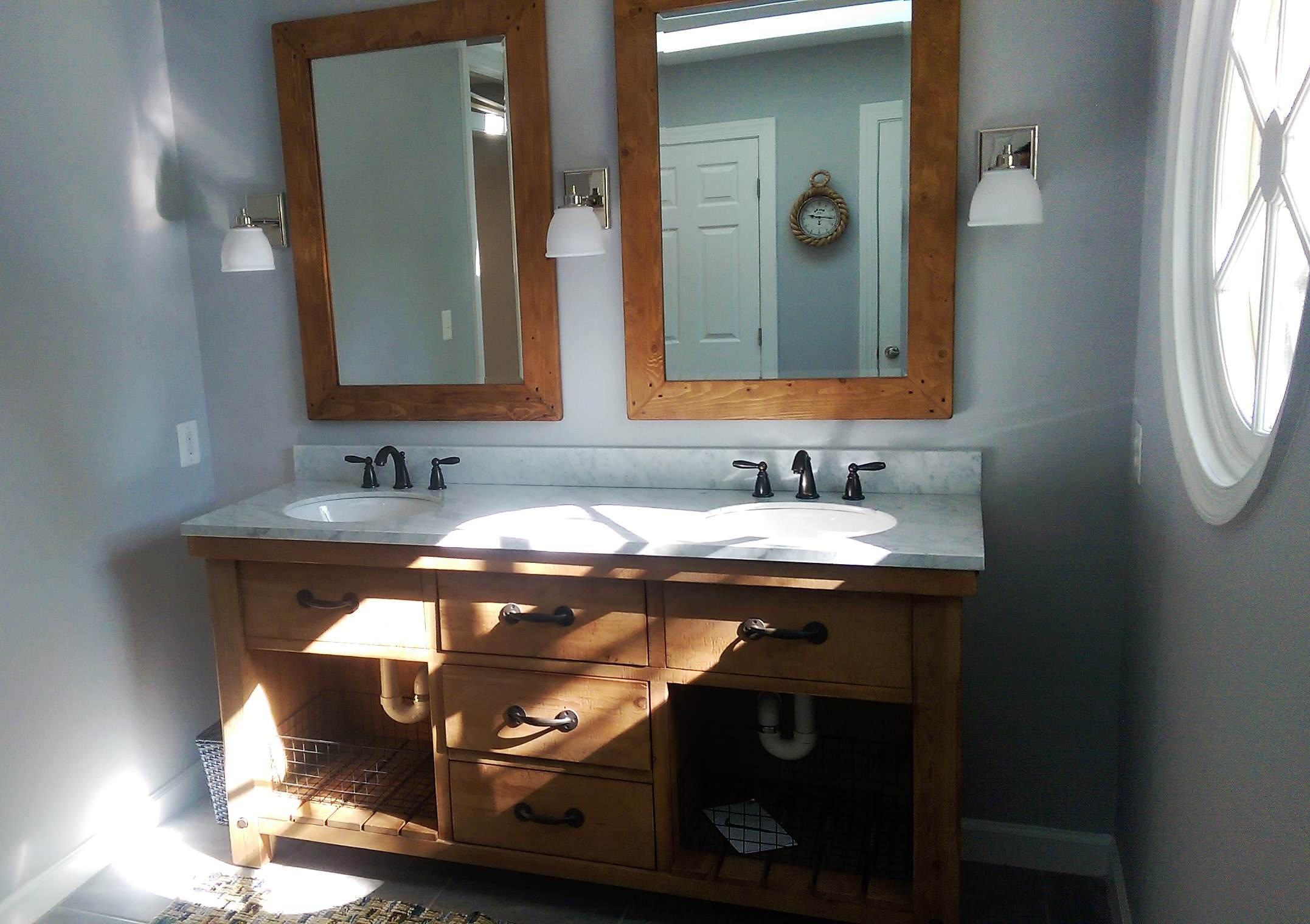 Transitional Master Bath Remodel