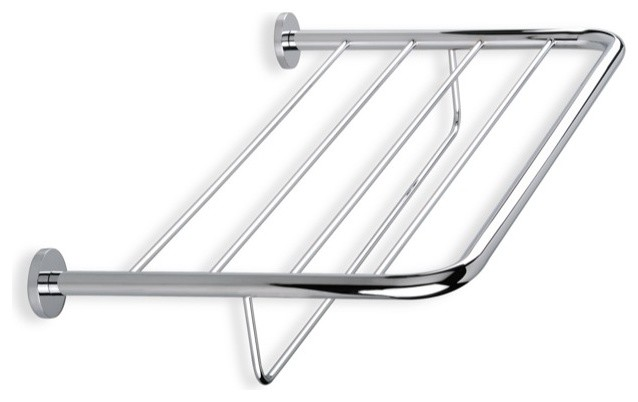 Wall Mounted Towel Rack  Chrome contemporary towel racks and stands. Wall Mounted Towel Rack   Contemporary   Towel Racks  amp  Stands   by