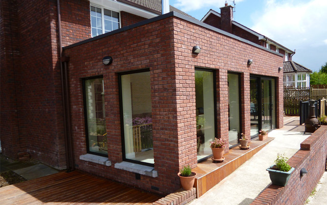 Red Brick House Extension Contemporary Other By