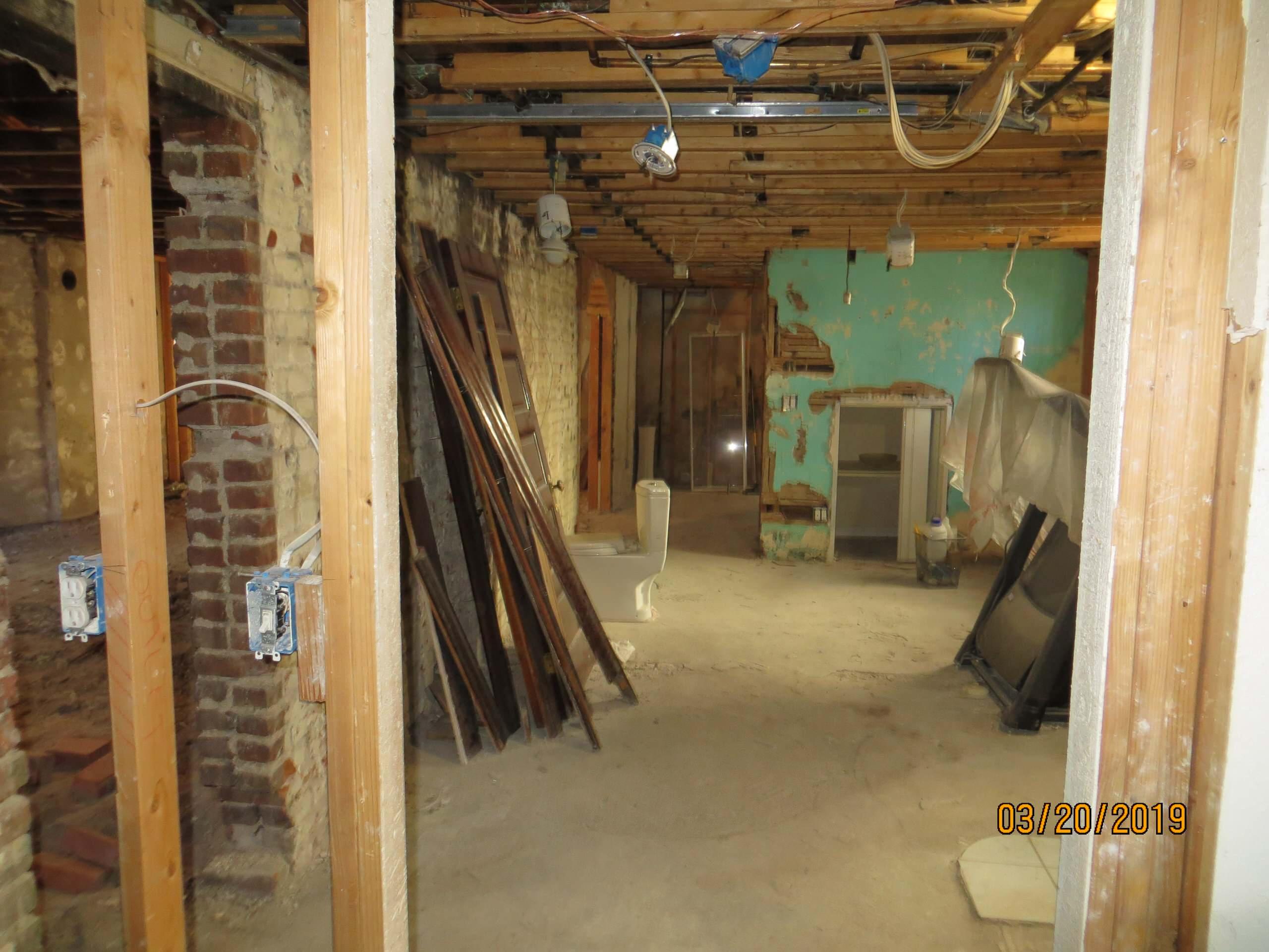 Denver 1911 basement refinish