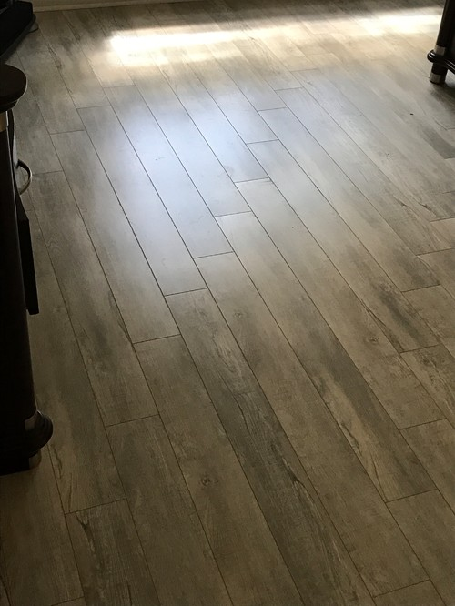 Attractive Laminate Floors Just Installed But Pattern Not Random Ex27