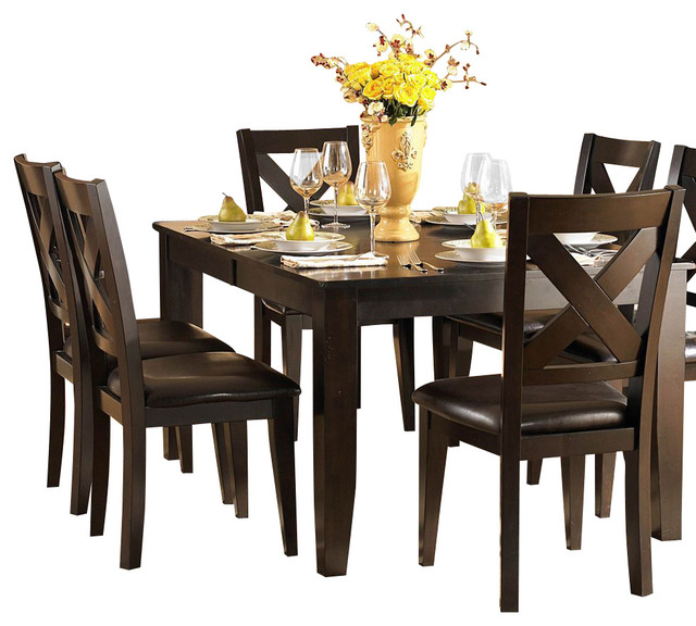Chicago Traditional Formal Dining Room Furniture Stores: Homelegance Crown Point 10-Piece Dining Room