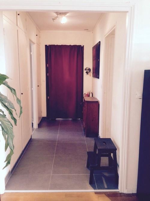 je viens de refaire le sol de mon entr e. Black Bedroom Furniture Sets. Home Design Ideas