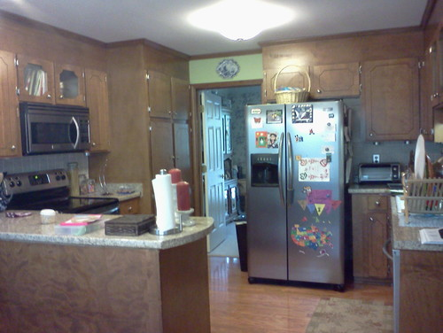 My Fridge Is Too Big For My Kitchen!