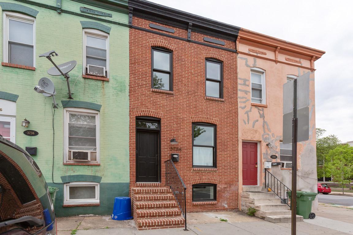 Baltimore Walk-Up Renovation