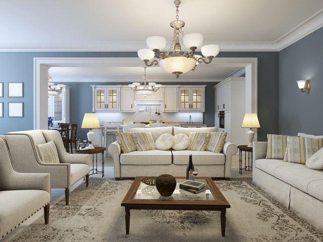 Hamptons style interiors for Hamptons living room designs