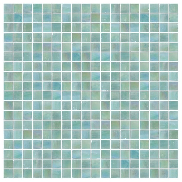 Shimmerfly iridescent glass tiles contemporary wall for Bedroom furniture 70123