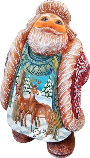 Hand Painted Darling Dears Santa.