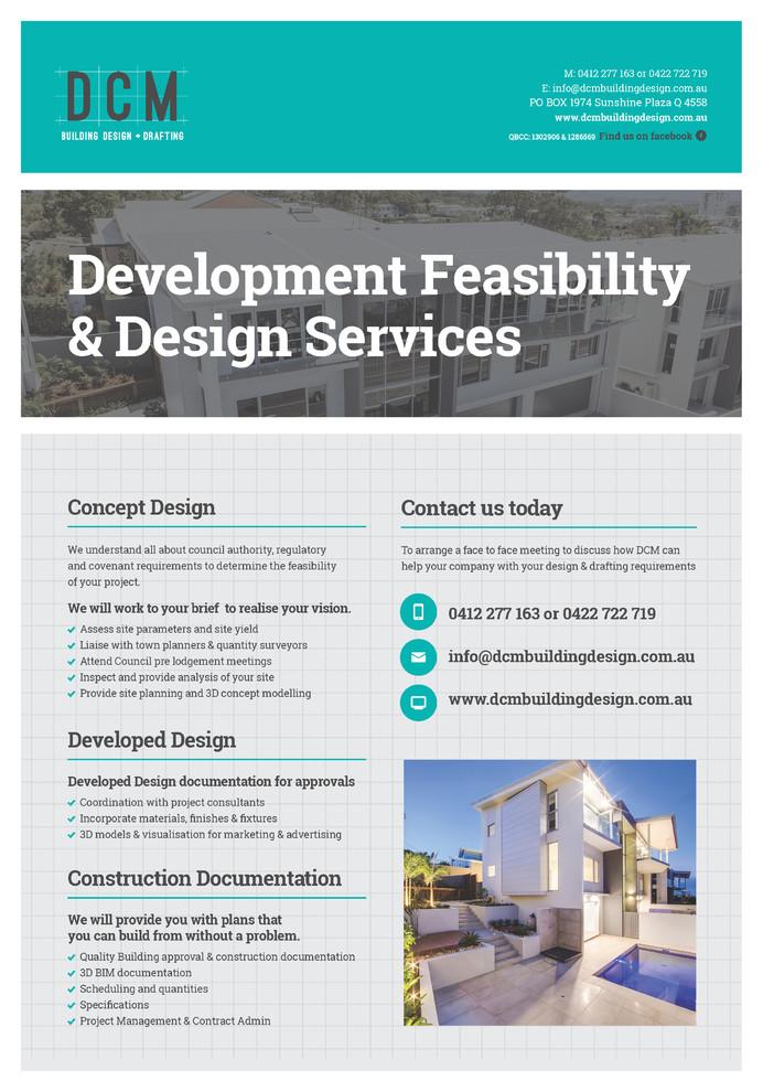 Development Feasibility & Design Services