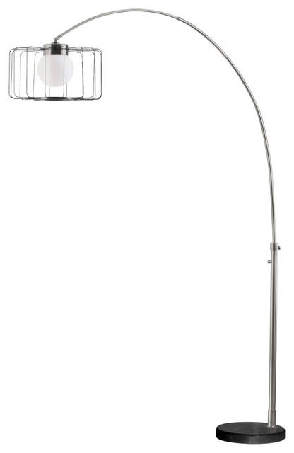 Watson Arc Lamp, Antique Nickel.