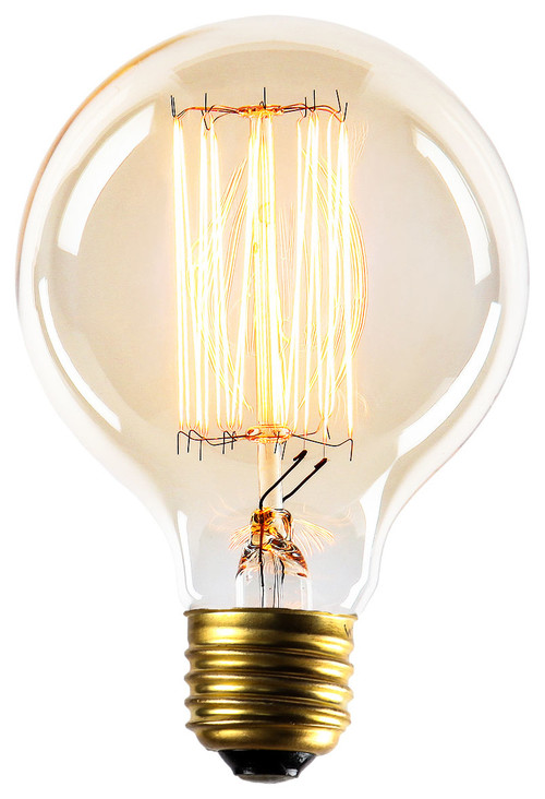 Midwood G25 Vintage Style Edison Bulb, 40W (E26), Set of 4