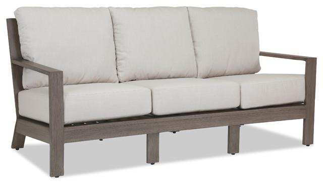Laguna Sofa With Cushions, Cushions: Spectrum Mushroom
