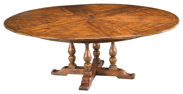 walnut jupe dining table extra large traditional dining tables by bseid. Black Bedroom Furniture Sets. Home Design Ideas