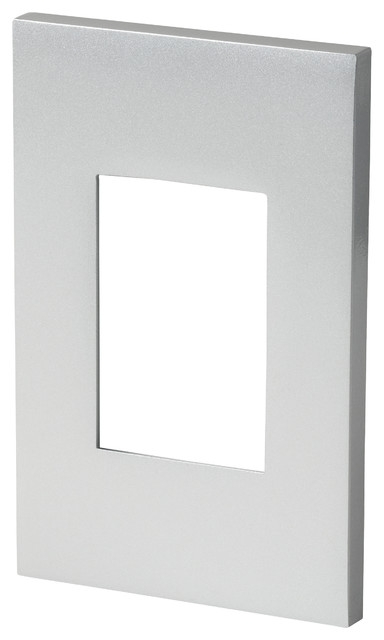 277v Led Turtle Step Vert Vitra, Satin Nickel.
