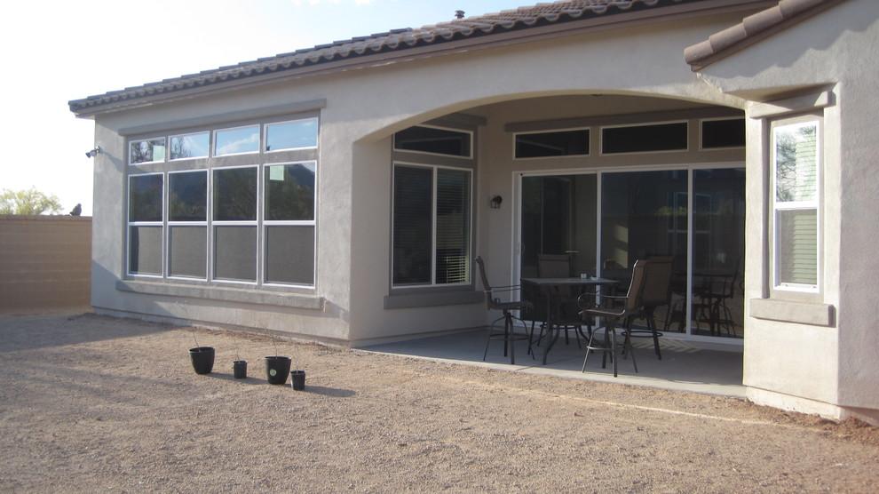 Modern New Home Landscape - Mesa, Arizona