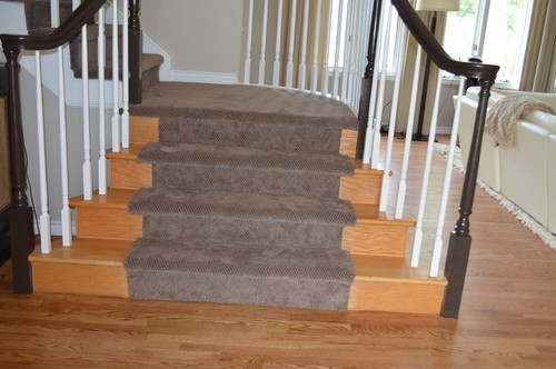 Does The Carpet On The Stairs Look Weird?