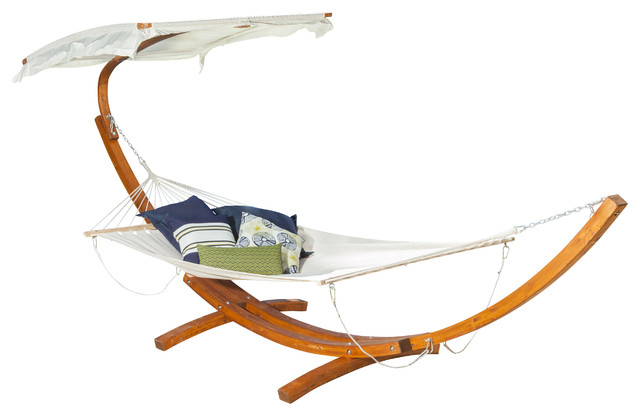 Weston Hammock W/ Canopy Top Contemporary Hammocks And Swing Chairs