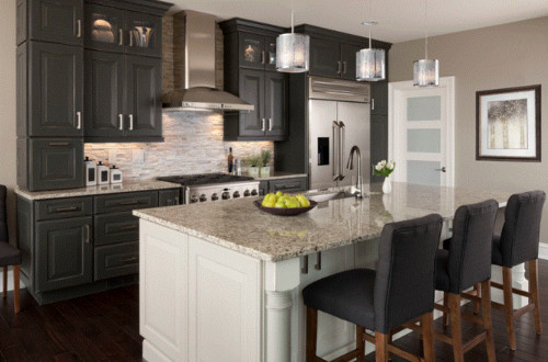 white kitchen cabinets with gray island is a white kitchen that much of a hassle 29016