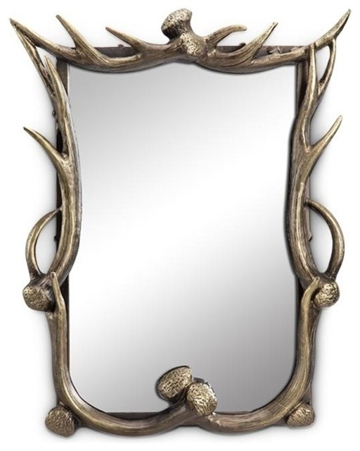 Antler Wall Mirror.