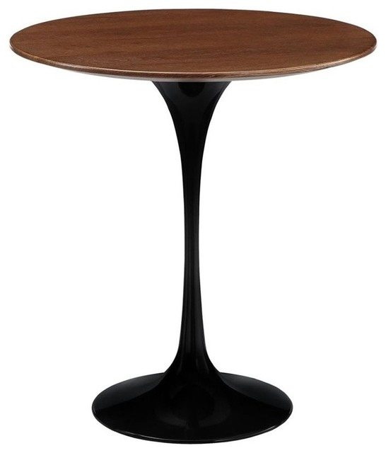 Modway Lippa Round End Table, Black.